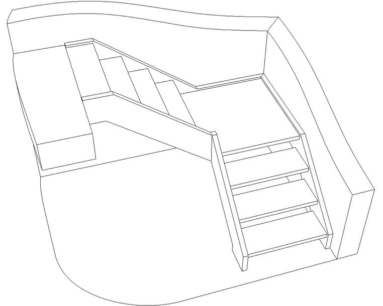 Comment Calculer Un Escalier Quart Tournant Avec Palier